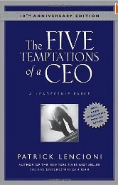 Five Temptations of a CEO